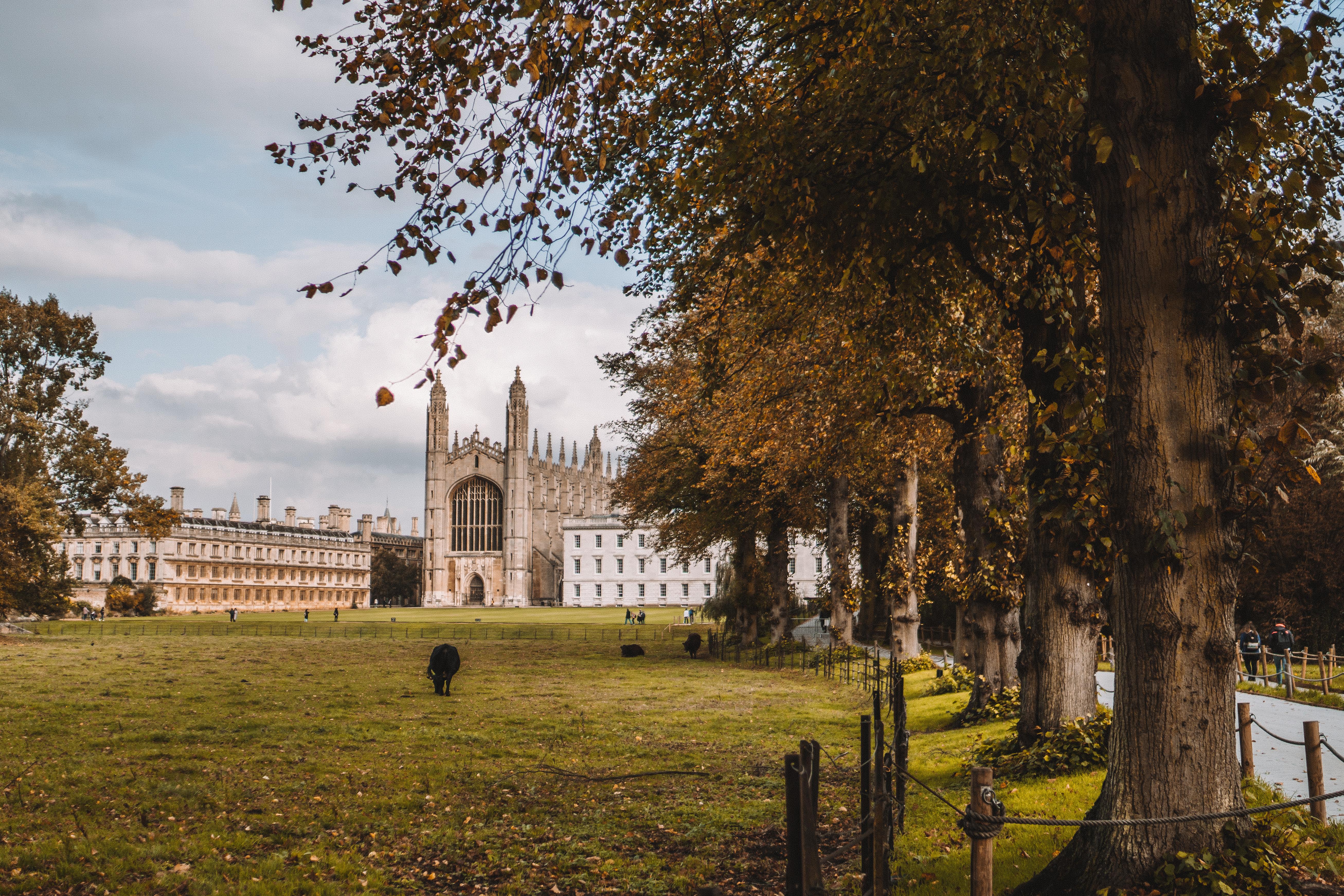 Kings College Cambridge in Autumn