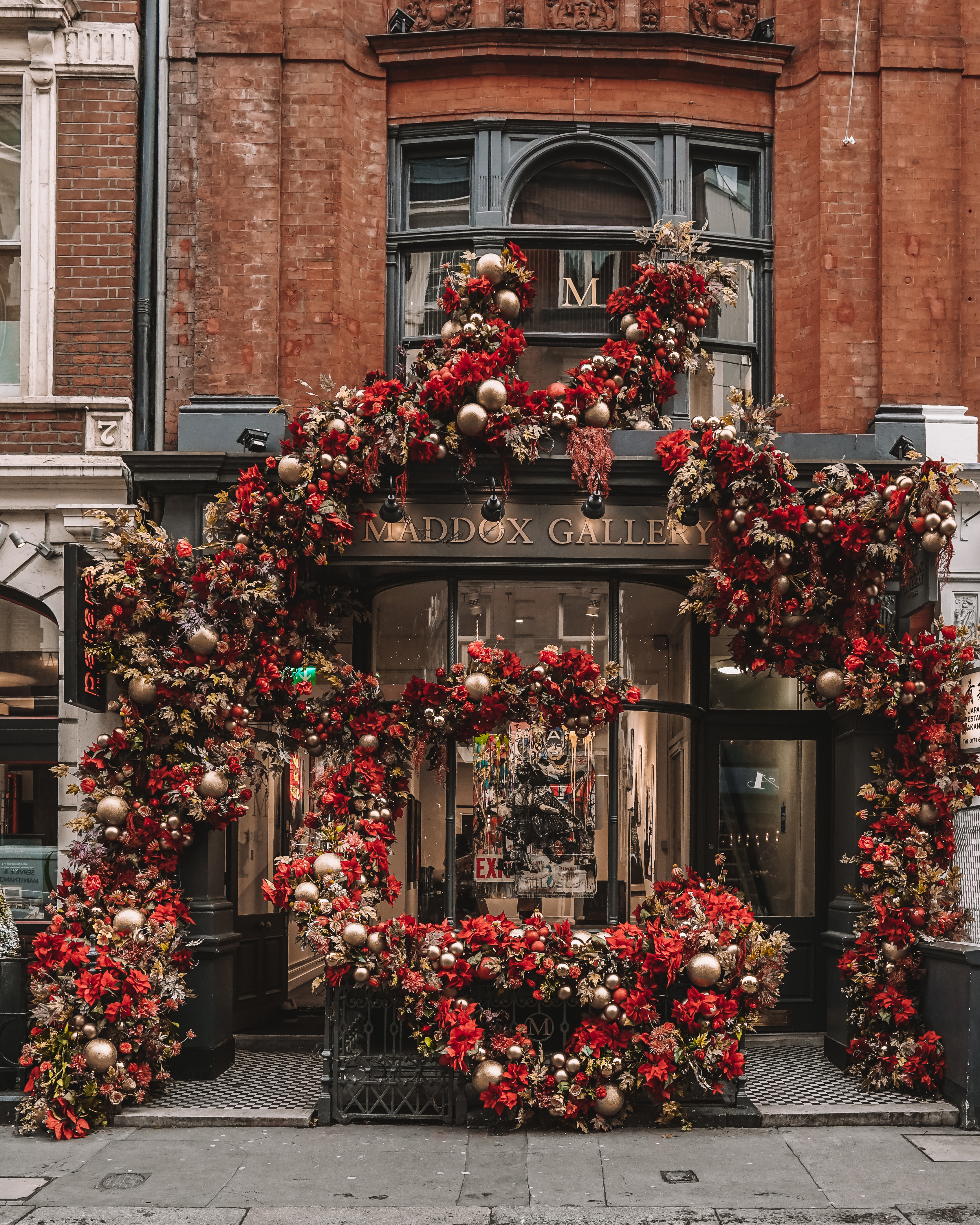 Christmas in London | London's Best Festive Displays | The Maddox Gallery
