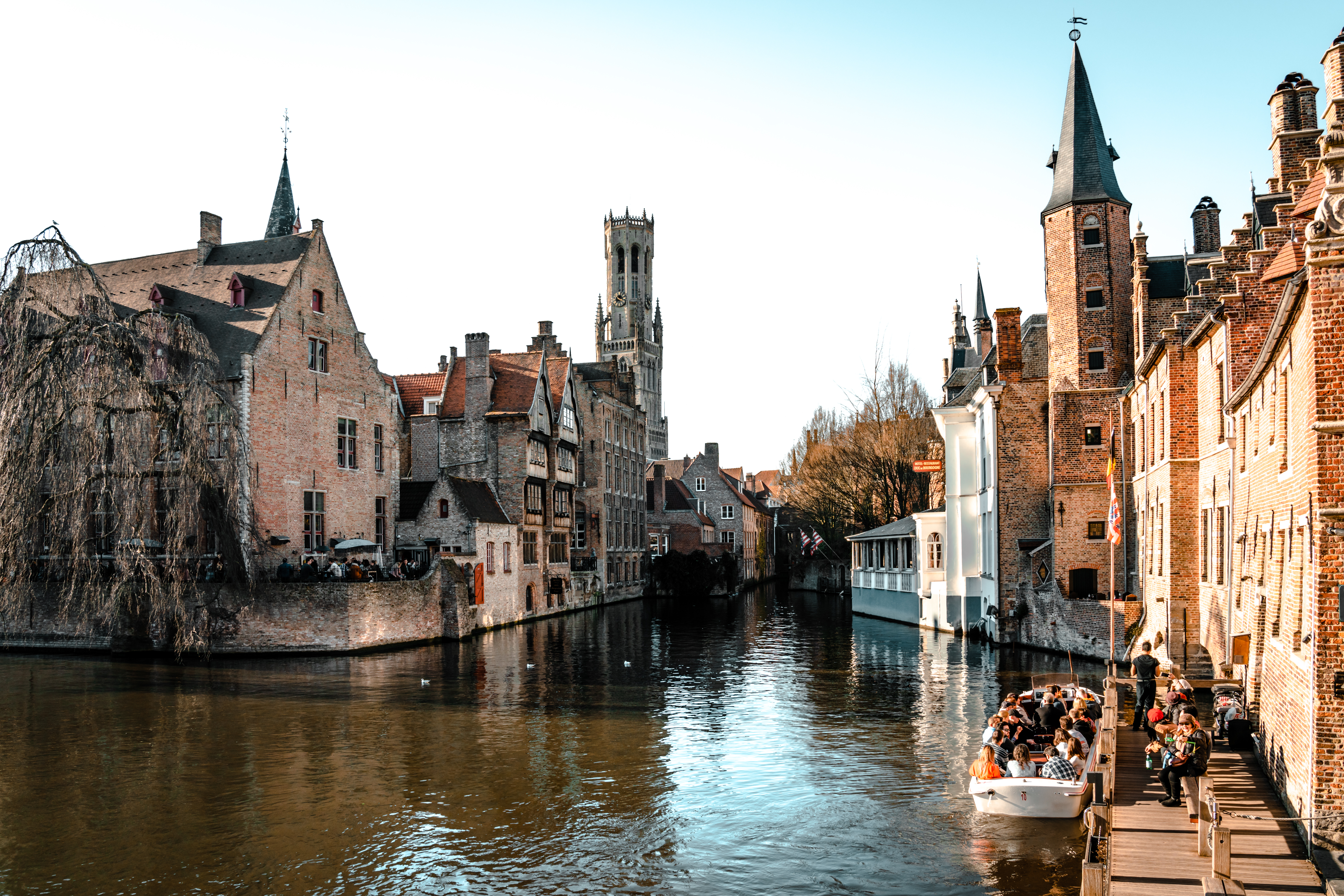 The Most Picturesque Locations in Bruges   Rozenhoedkaai