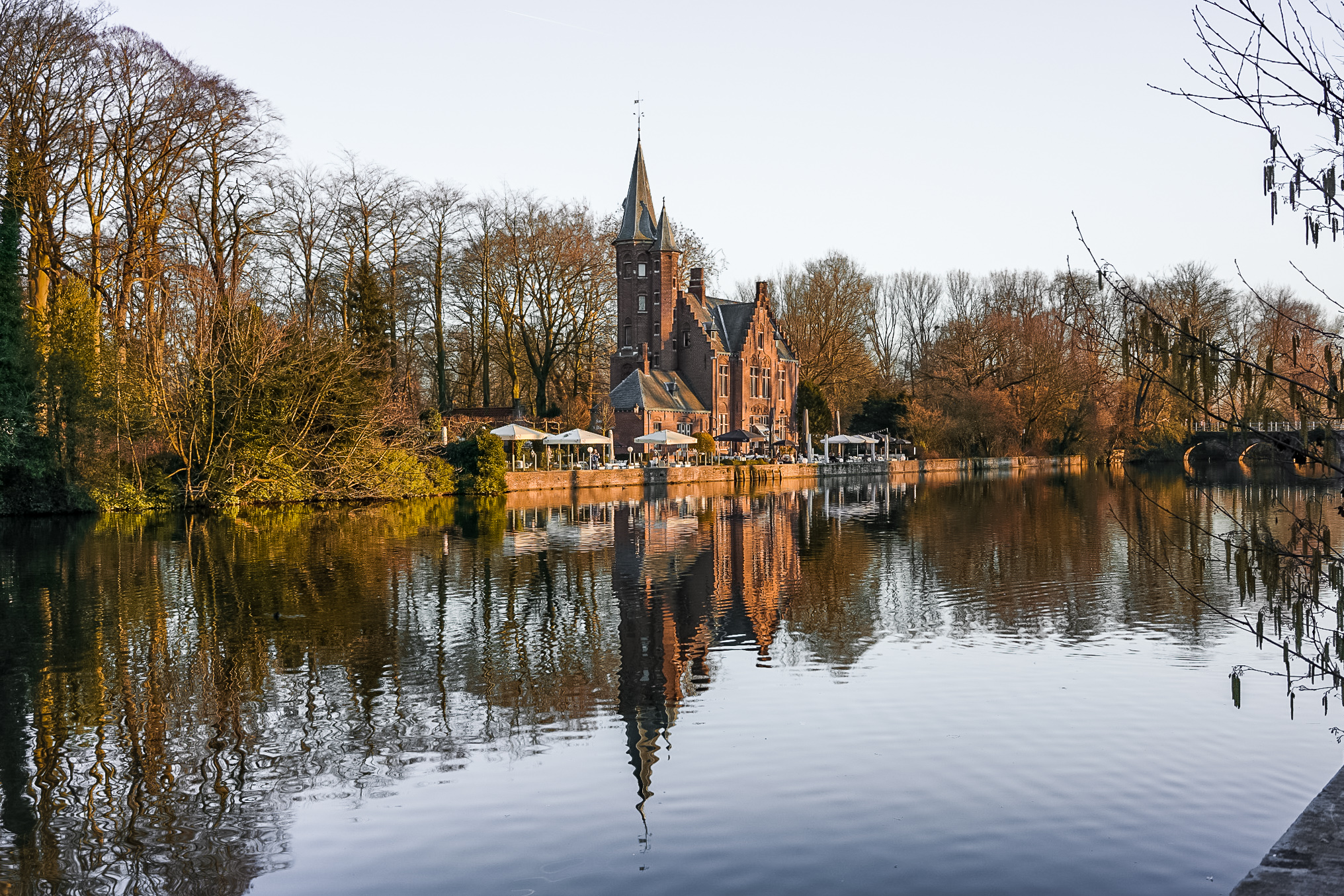The Most Picturesque Locations in Bruges | Minnewater Park
