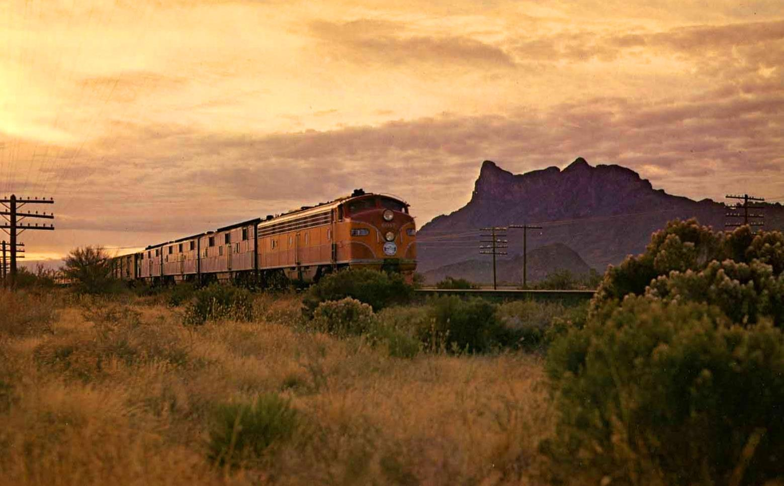 The Most Amazing Train Journeys in the World | The Sunset Limited