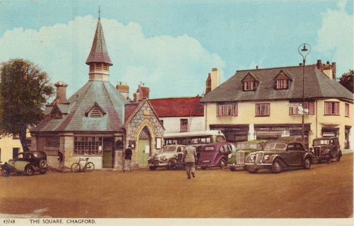 Chagford postcard