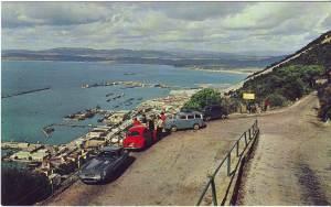 E-Type Jaguar postcard