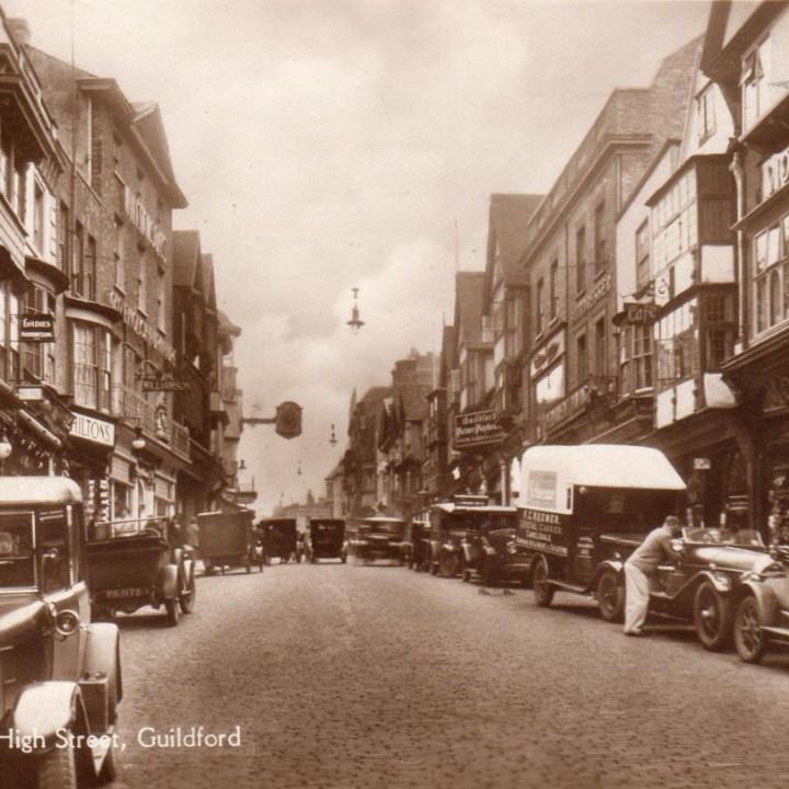 Postcard classic cars