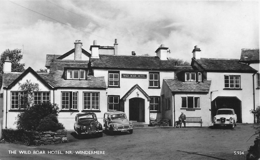 the wild boar hotel nr windermere