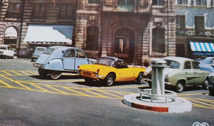 Beziers classic cars 1960s