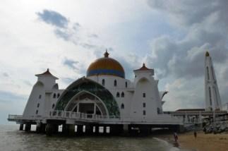 Straits Mosque (Malay: Masjid Selat Melaka), Melaka, Malaysia