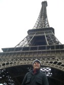 Steve, the civil engineer (MA), in Paris