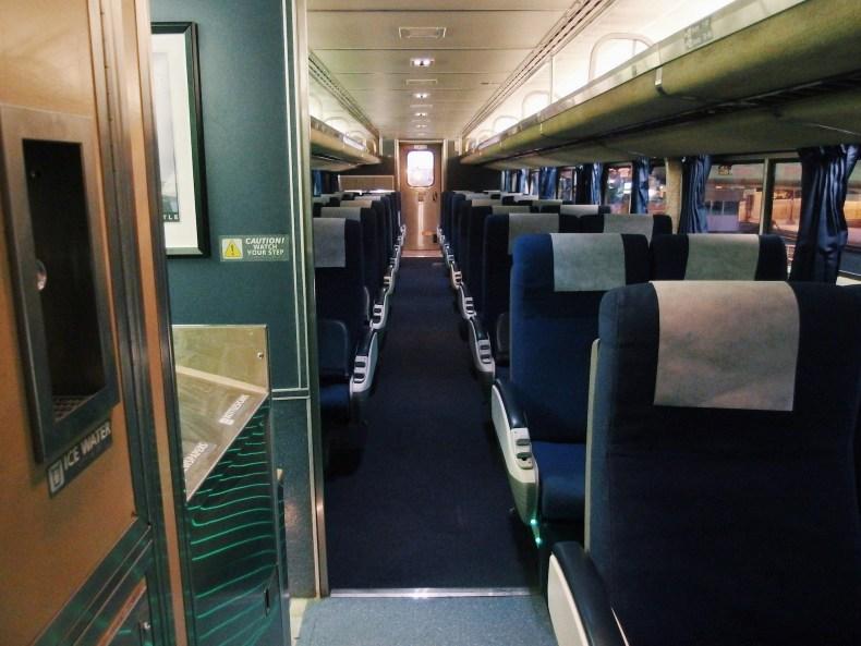 Southwest Chief Amtrak Train