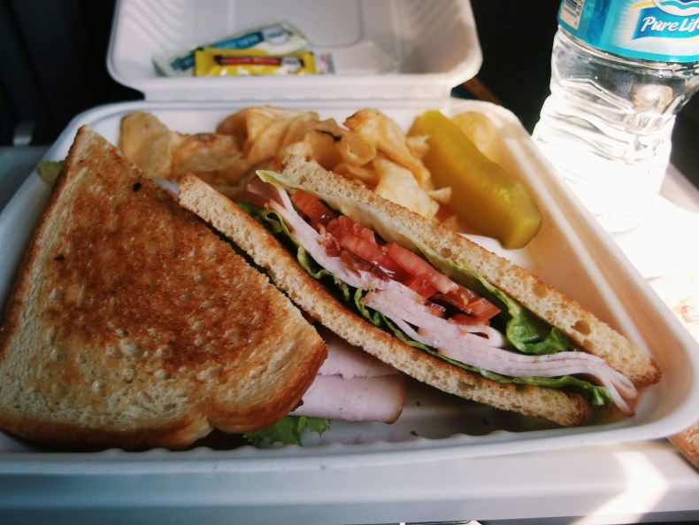 Amtrak Lunch Sandwich 2