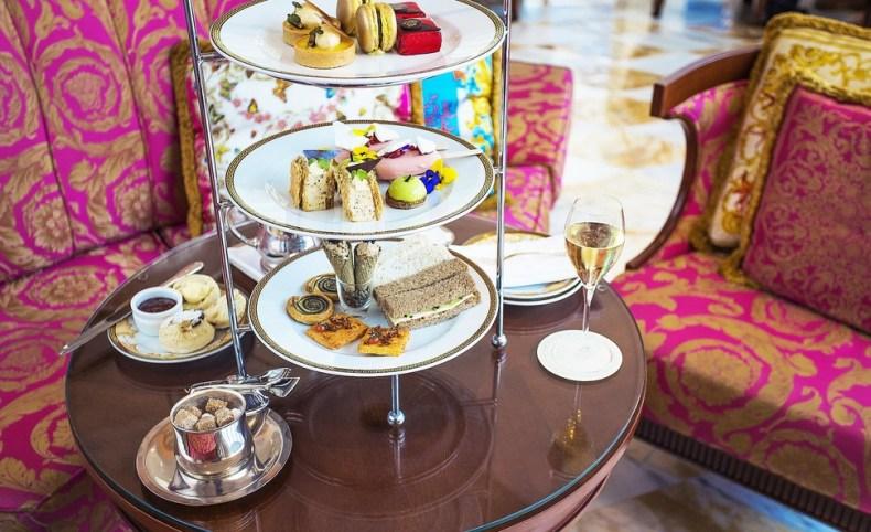 Palazzo Versace Champagne High Tea