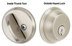 Safe deadbolts