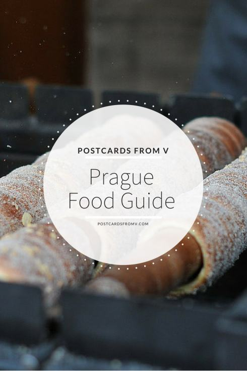 pinterest, prague, food guide, postcards from v