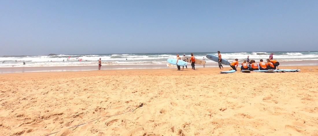 Surfing, Algarve, Teaching