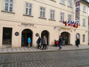 Cafés, Prague, Angelato
