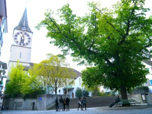 Zurich, City Guide, St. Peter