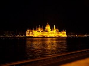 Budapest, City Guide, Night, Parliament