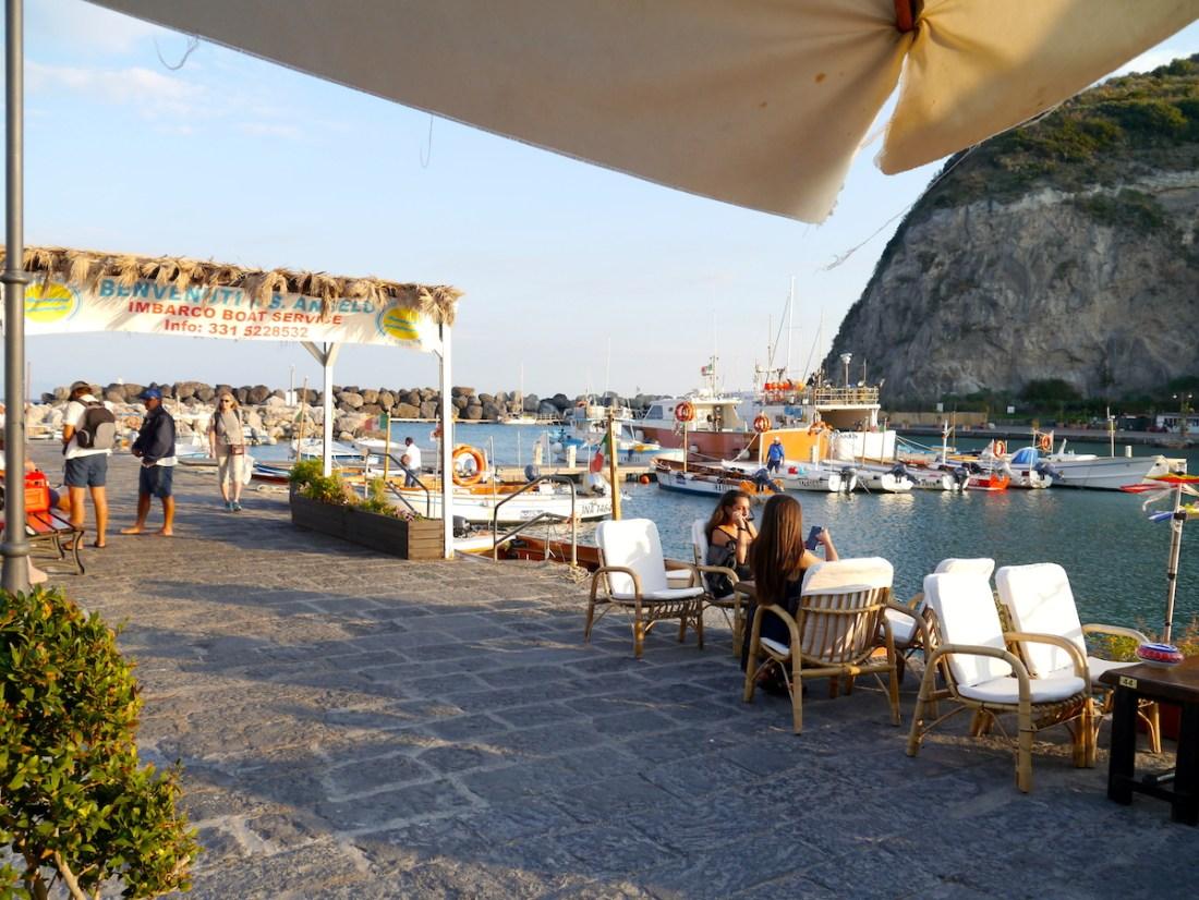 Ischia, Italy, Itinerary, Sant'Angelo, Restaurant
