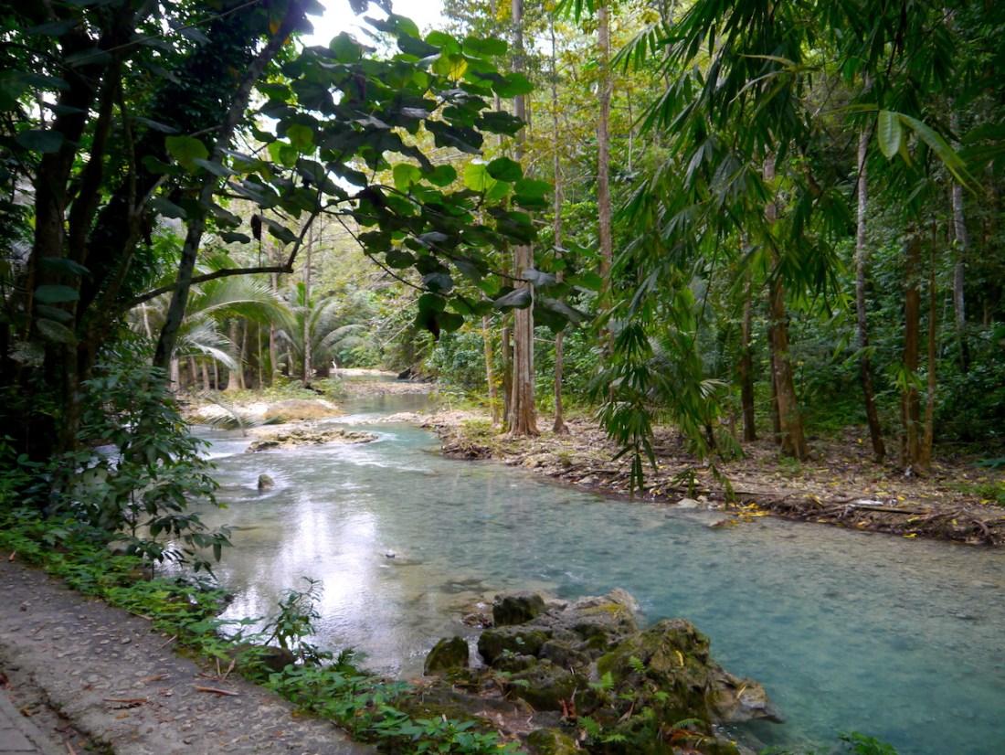 Cebu, Philippines, Itinerary, Kawasaki Falls, River