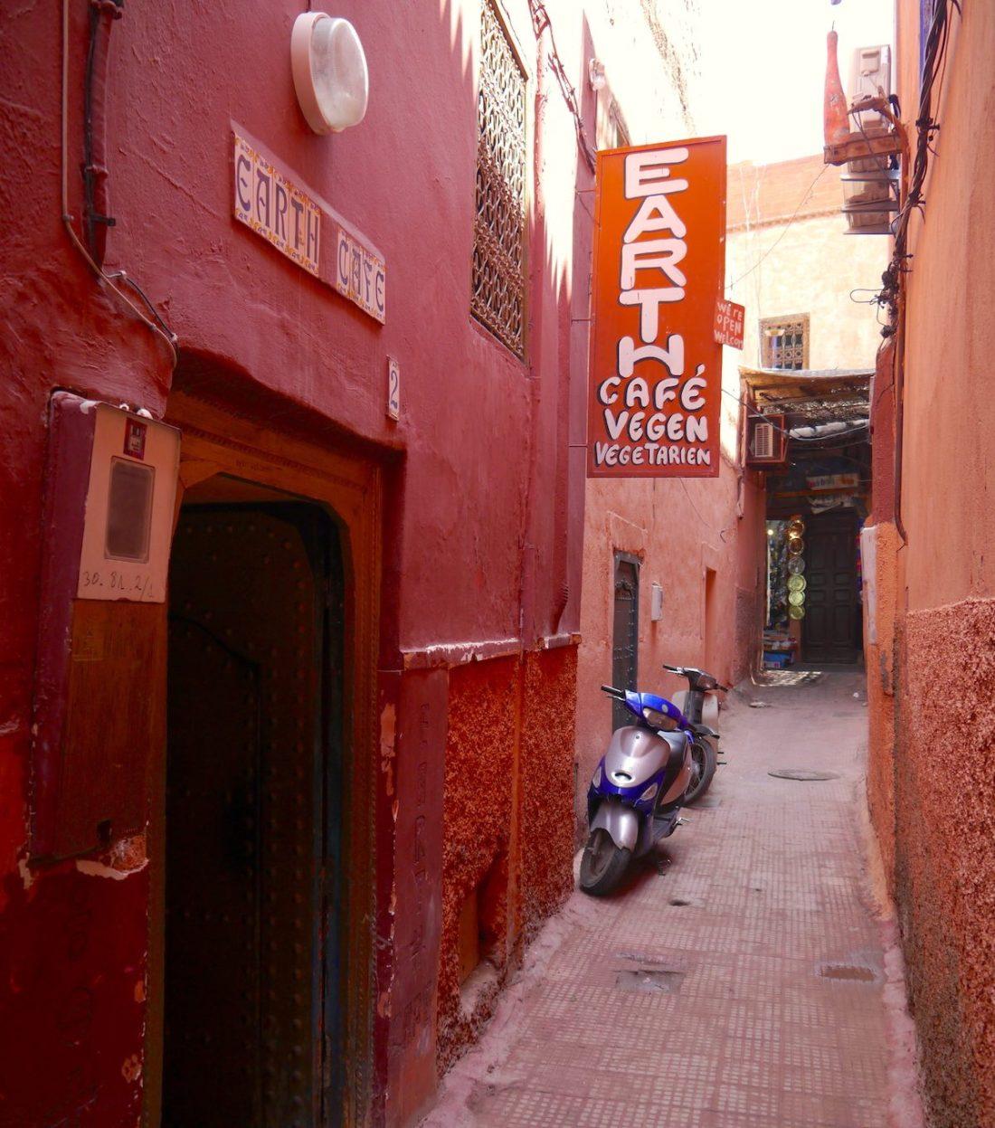 Solo Guide, Marrakech, Morocco, Food, Earth Café