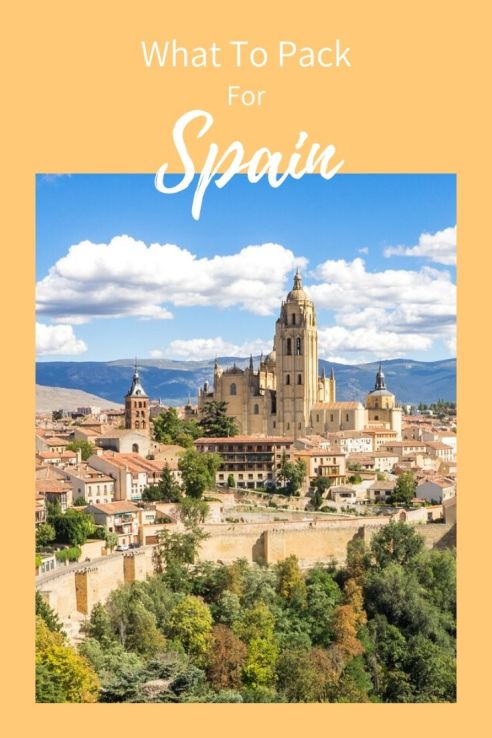 what to pack for Spain, pinterest, pin it
