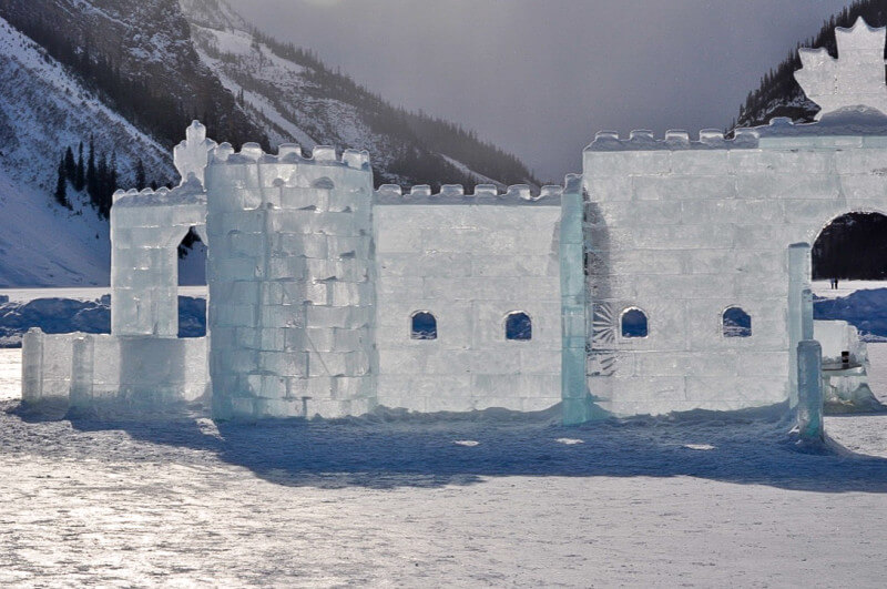 Lake Louise castle