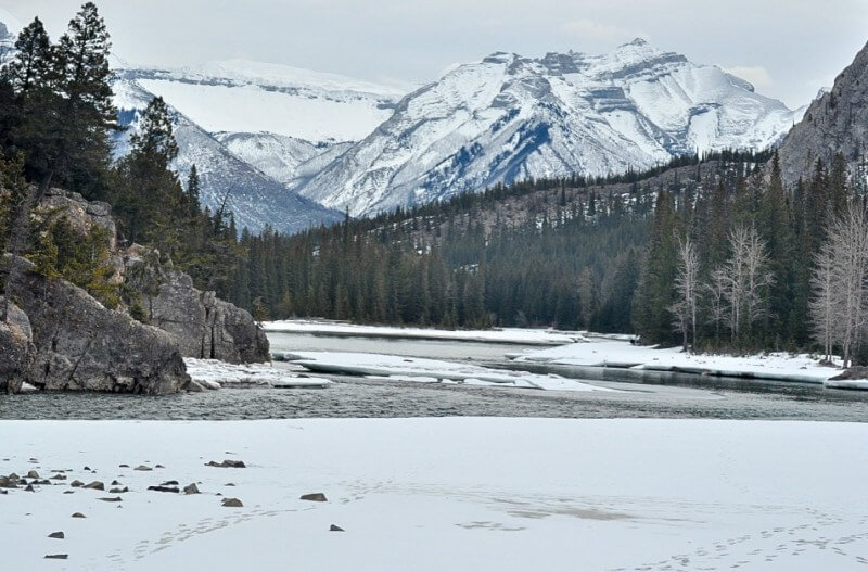 what to do in banff bow river