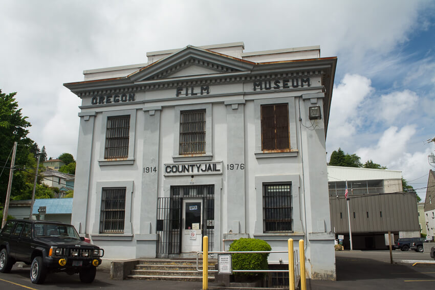 what to do in the charming town of Astoria Oregon Film Museum