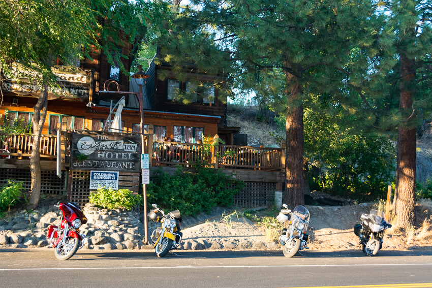 How to Spend a Weekend in Winthrop motorcycles