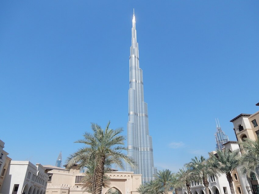 layover in dubai burj khalifa
