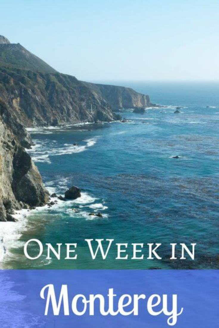 Monterey is one of the most beautiful parts of California. Here's an itinerary for a week in Monterey.