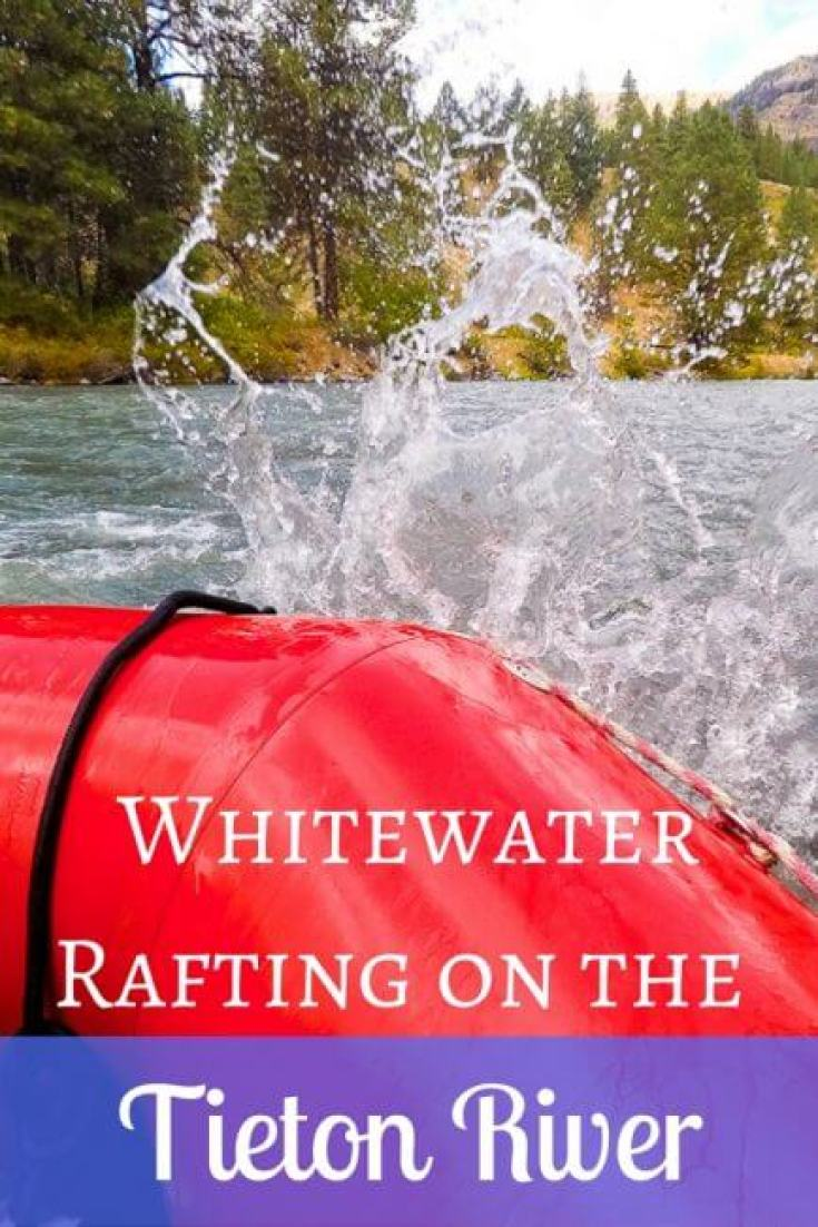 The Tieton River out of Yakima, Washington is the perfect place to spend an afternoon whitewater rafting! You'll love the feeling of the water splashing.
