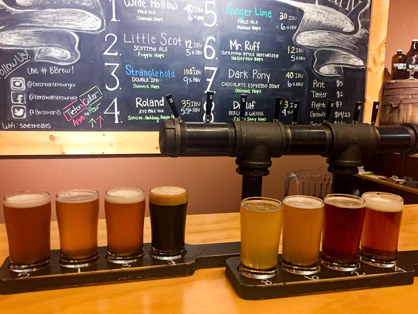 visiting yakima brewery