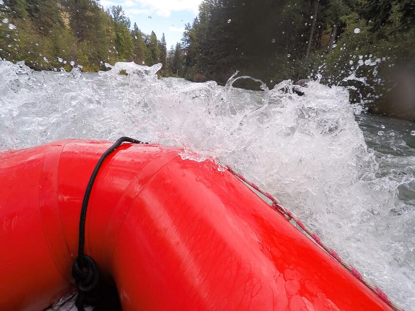 whitewater rafting tieton river