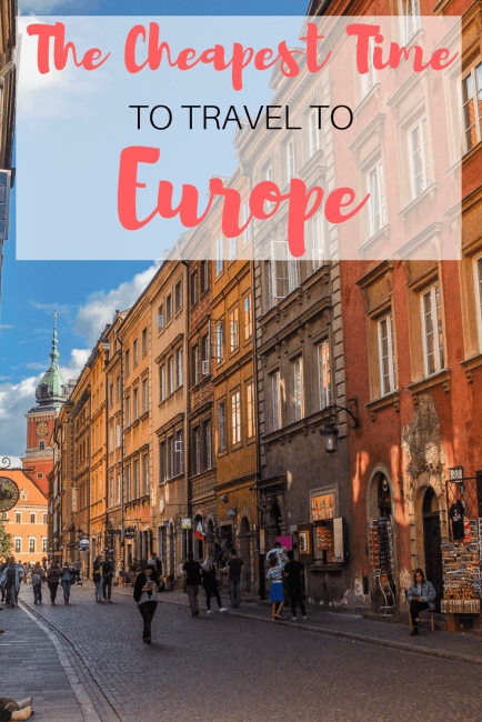 The Cheapest Time To Travel To Europe Postcards To Seattle - Travel to europe