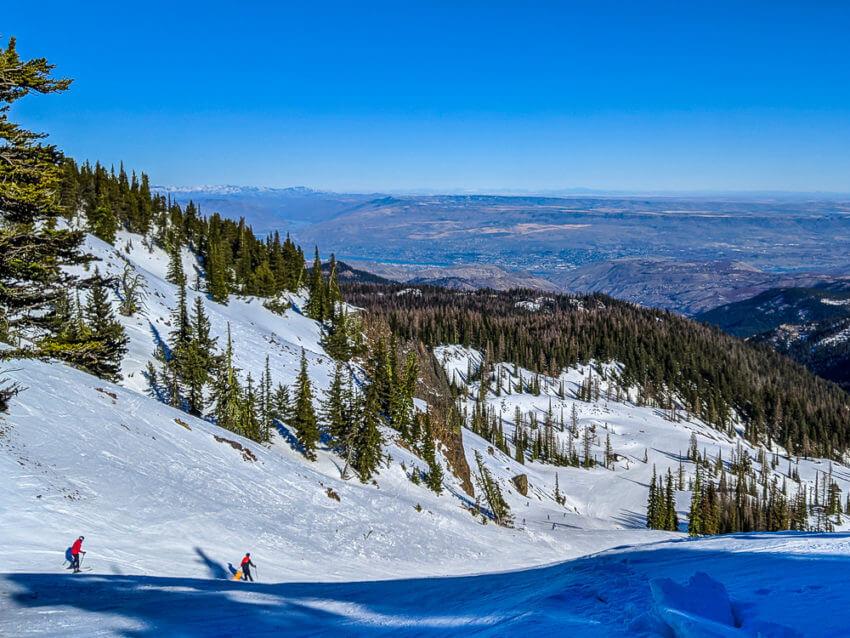 weekend in wenatchee skiing