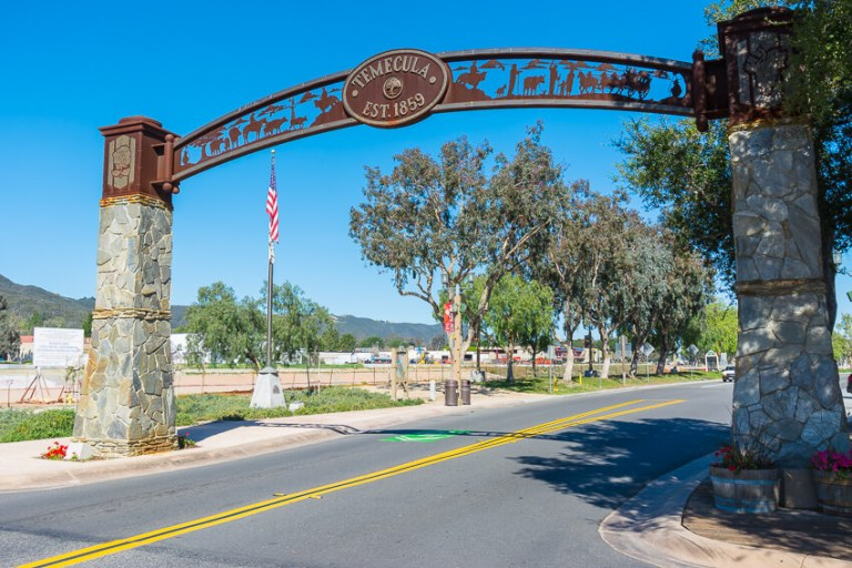 temecula valley sign