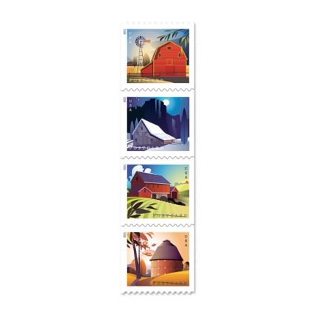 """""""Barns"""" Stamps"""