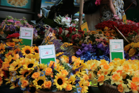 Flowers at the markets