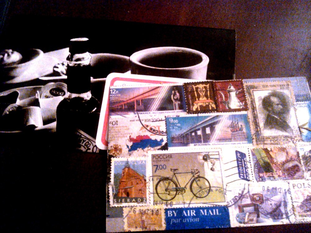 New Mail Art - outgoing (2/4)
