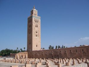 Qutubiyya Mosque, Marrakesh. Source: Wikipedia