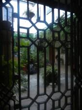 Peering into the famous courtyard gardens of Córdoba