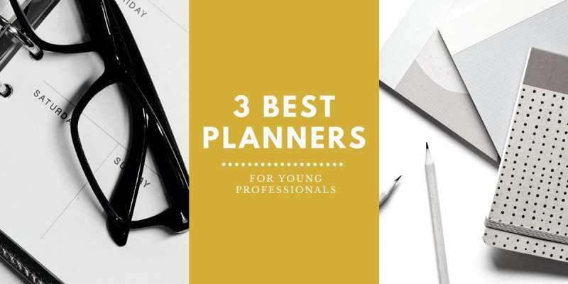 Three Best Planners for Job-Hunting, Young Professionals