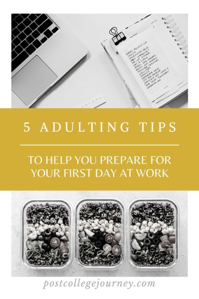 first-day-work-tips