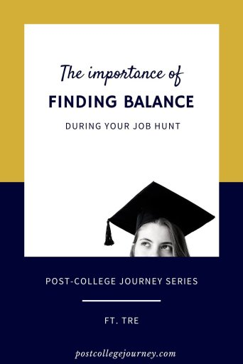 job-hunting tip for new graduates | life after college tip | is it okay to not have a job after college