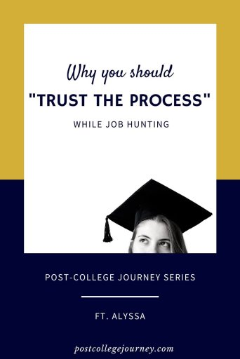 why you should trust the process while job hunting-pin