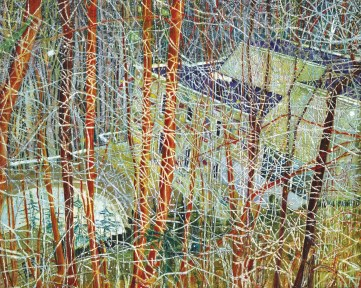 The Architect's Home in the Ravine 1991 Oil on canvas 200 x 275 cm