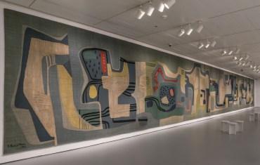 Roberto Burle Marx - tapeçaria, pátio Municipal Santo André - 26m38 x 3m27