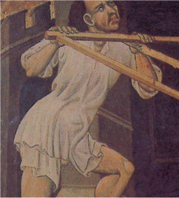 Loose shirt and braies. 1420-23.
