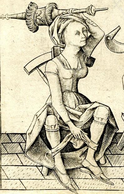 Creator: Israhel von Meckenem, engraver. 15 C - 1400s. Germany